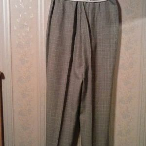 Koret Pants - *KORET WOMEN'S BLACK/WHITE HOUNDSTOOTH DRESS PANTS